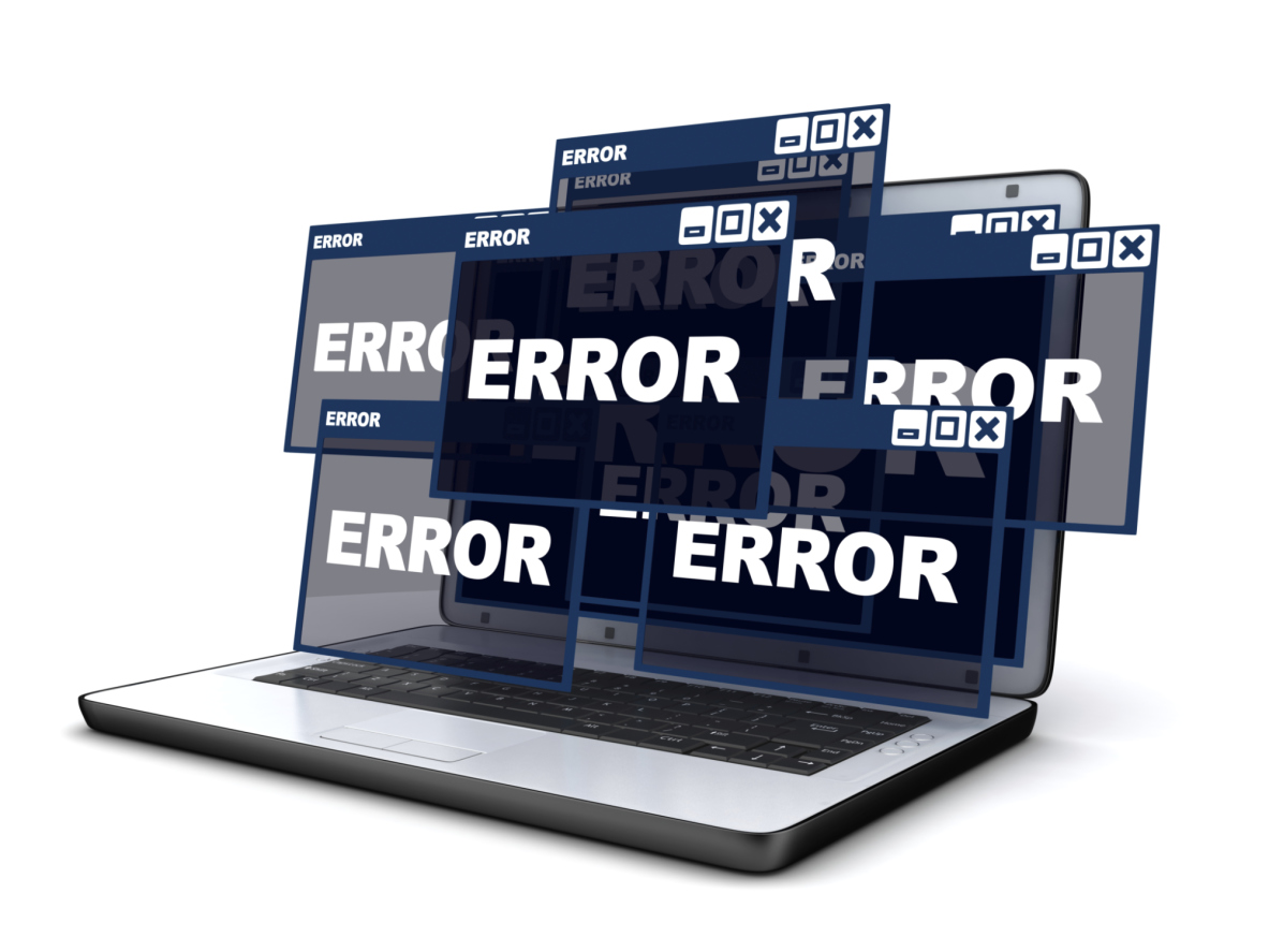 Laptop and error